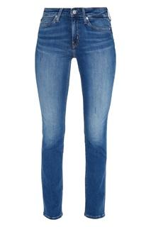 Синие прямые джинсы Calvin Klein