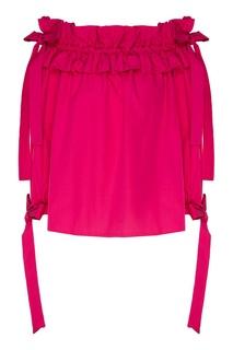 Блуза цвета фуксия Nikka Sara Roka