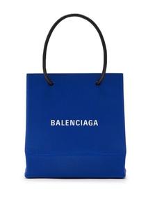 Сумка-кроссбоди цвета электрик Balenciaga