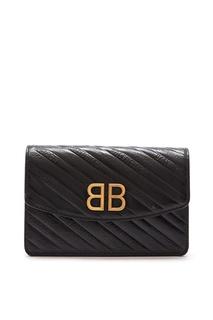 Мини-сумка кроссбоди с логотипом BB Balenciaga