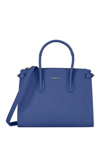 Синяя сумка Pin Furla