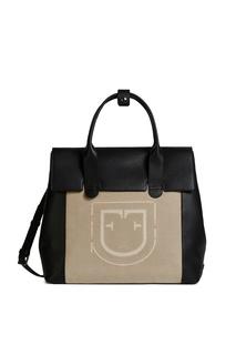 Комбинированная сумка Titano с логотипом Furla