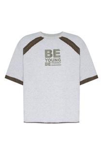 fc7236d5a4a79 Купить мужскую футболки с надписями свободные - цены на футболки с ...