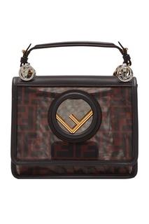 Маленькая сумка из сетчатой ткани KAN I F Fendi