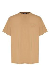Футболка светло-коричневого цвета Balenciaga Man