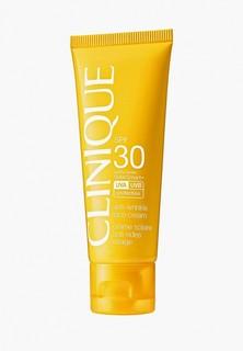Крем солнцезащитный Clinique Солнцезащитный Anti-wrinkle Face Cream SPF 30