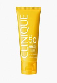 Крем солнцезащитный Clinique Солнцезащитный Face Cream SPF 50
