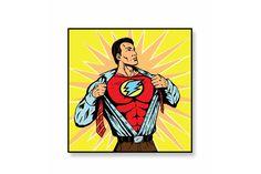 Постер Супер герой Ангстрем