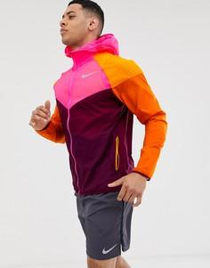 Разноцветная ветровка Nike Running - Мульти