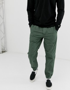 Зеленые брюки Carhartt WIP Coleman - Зеленый