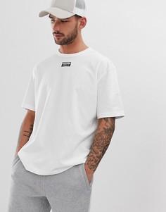 Белая футболка с логотипом adidas Originals - Белый