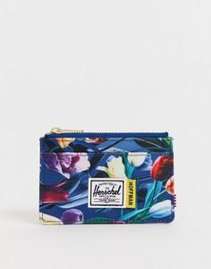Кошелек для монет и карт с RFID-защитой Herschel Supply Co X Hoffman Oscar - Мульти