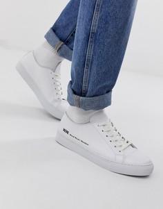 Белые кроссовки Wood Wood Alex - Белый
