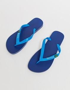 Темно-синие шлепанцы Ipanema Вrazil 21 - Темно-синий