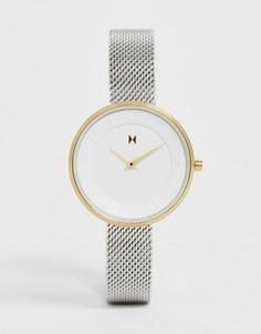Часы из разных металлов MVMT - Mod - Серебряный