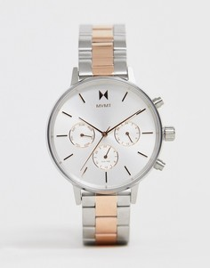 Серебристые наручные часы MVMT - Bloom - Серебряный