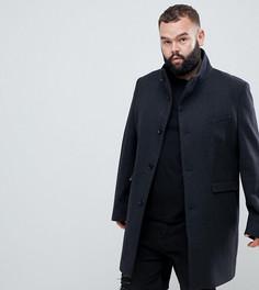 Пальто с воротником-стойкой Noose & Monkey PLUS - Серый