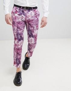 Укороченные брюки с принтом Noose & Monkey - Розовый