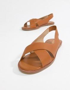 Летние туфли на плоской подошве Aldo - Рыжий