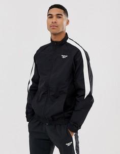 Черная спортивная куртка Reebok - Черный