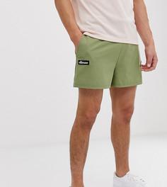 Зеленые трикотажные шорты ellesse Frederico эксклюзивно для ASOS - Зеленый