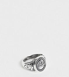 Серебряное кольцо Reclaimed Vintage эксклюзивно для ASOS - Серебряный