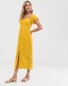 Платье Finders Keepers Elle - Желтый