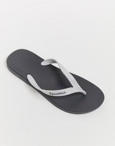 Белые/серые шлепанцы Ipanema posto 21 - Серый