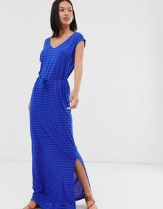 Платье макси Blend She - Синий