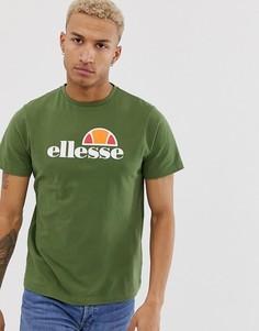 Темно-зеленая футболка ellesse Prado - Зеленый