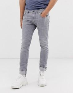 Серые узкие джинсы Diesel - Thommer SP (0890E - Синий