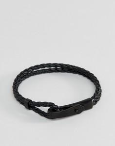 Черный браслет Emporio Armani - Черный