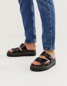 Черные сандалии Dr Martens Ryker - Черный