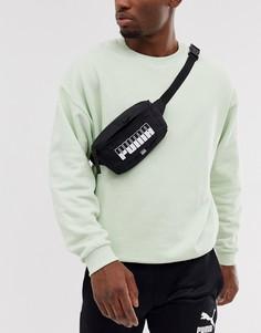 Черная сумка-кошелек на пояс Puma - Черный