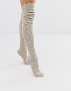 Носки кремового цвета Jonathan Aston - Harmony - Бежевый