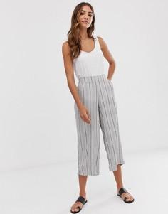 Укороченные брюки в полоску b.Young - Мульти
