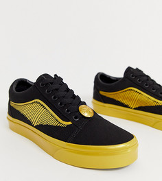 Кроссовки Vans X Harry Potter Golden Snitch Old Skool - Черный