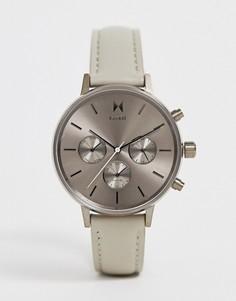 Часы с кожаным ремешком MVMT - Nova - Серый