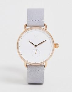 Часы с кожаным ремешком MVMT - Bloom - Фиолетовый