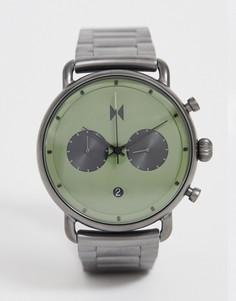 Наручные часы голубовато-серого цвета MVMT Blacktop - Серый