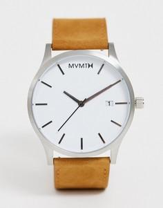 Часы со светло-коричневым ремешком MVMT - Рыжий