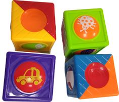Развивающая игрушка Волшебные вращающиеся кубики Huggeland