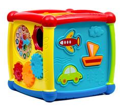 Обучающая игрушка Куб Huggeland