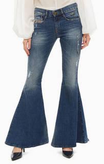 Джинсы Расклешенные джинсы с декоративной отделкой D-Ferenz Diesel