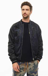 Куртка Двусторонняя куртка-бомбер с вышивкой Diesel
