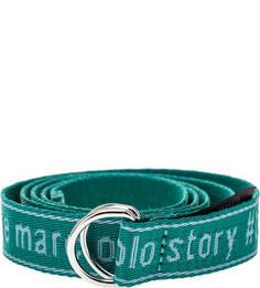 Ремень Зеленый текстильный ремень Marc Opolo