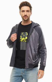 Куртка Легкая куртка из вискозы с капюшоном Diesel