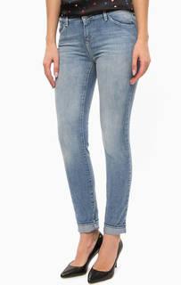 Джинсы Синие зауженные джинсы Armani Jeans