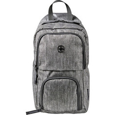 Рюкзак городской Wenger Urban Contemporary, с одним плечевым ремнем, темно-серый, 19х12х33 см, 8 л, шт