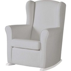 Кресло-качалка Micuna Wing/Nanny white/grey искусственная кожа (Э0000015026)